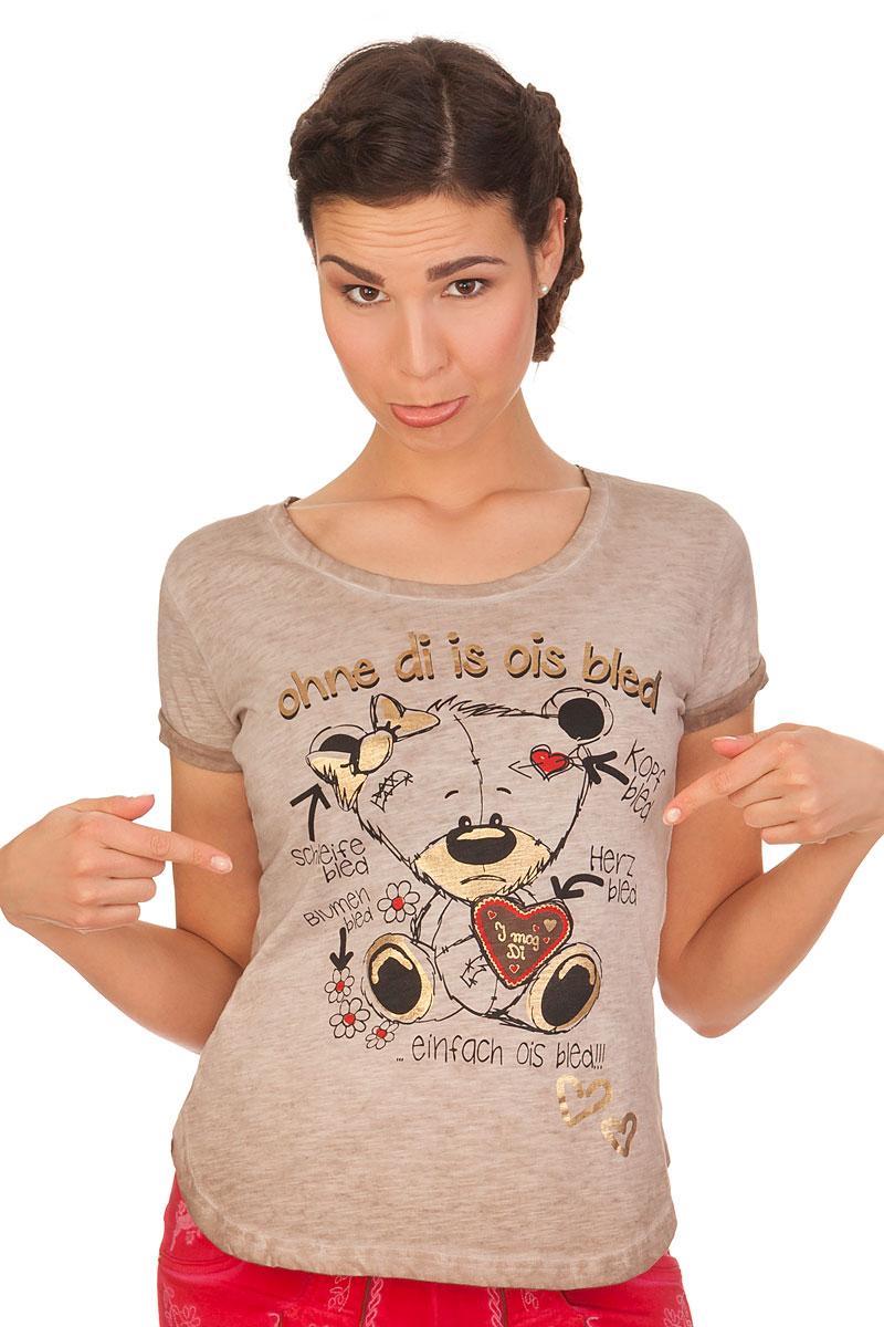 012b941cfa65 Hangowear Trachten Shirt - ASHLAND - beige online kaufen, T-Shirt