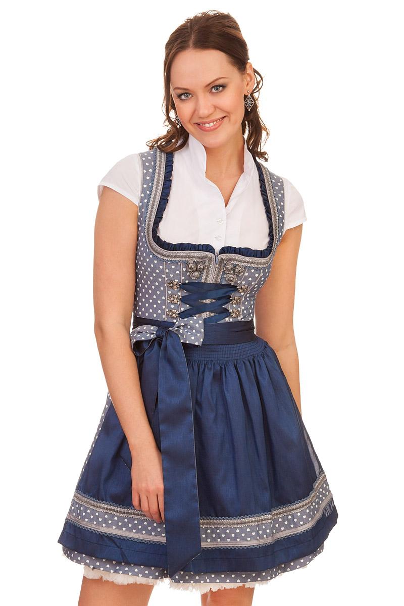 1383c6a073f9 Krüger Madl Trachten Minidirndl 2tlg. - LUCY - hellblau online kaufen