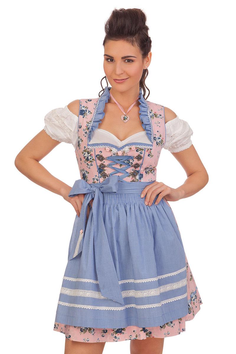 0190faef88dc Krüger Madl Trachten Minidirndl 2tlg. - SENTA - rosé online kaufen