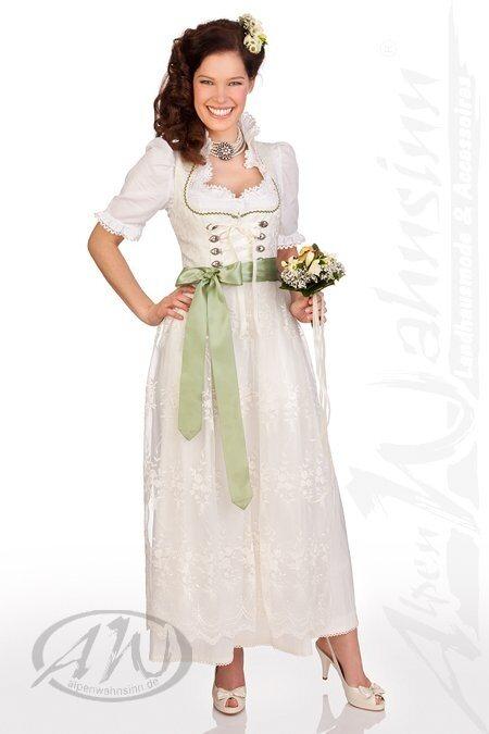 Brautkleid dirndl lang